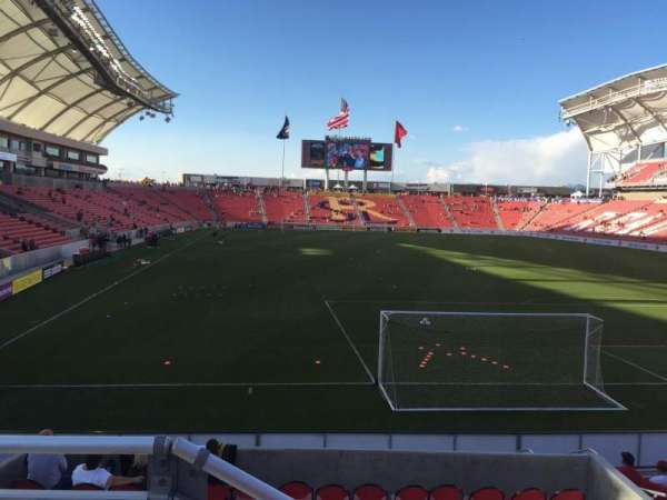 Rio Tinto Stadium, section: 12, row: J, seat: 12