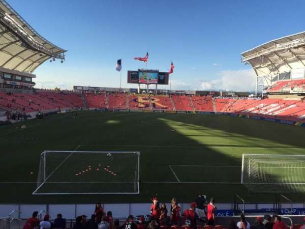 Rio Tinto Stadium, section: 11, row: L, seat: 15