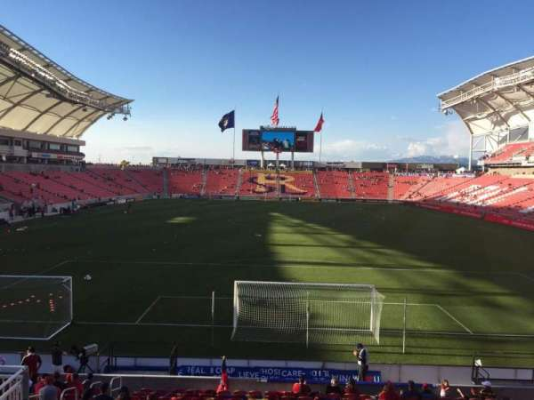 Rio Tinto Stadium, section: 10, row: Q, seat: 15