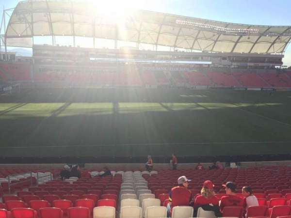 Rio Tinto Stadium, section: 3, row: X, seat: 19