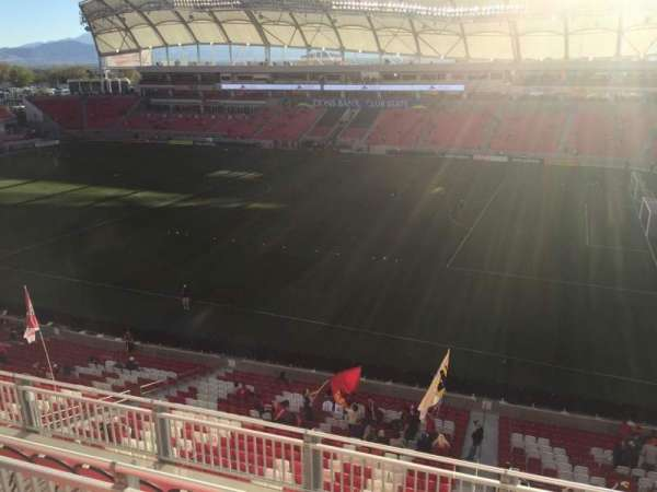 Rio Tinto Stadium, section: 235, row: F, seat: 2