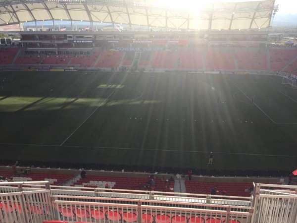 Rio Tinto Stadium, section: 237, row: J, seat: 6