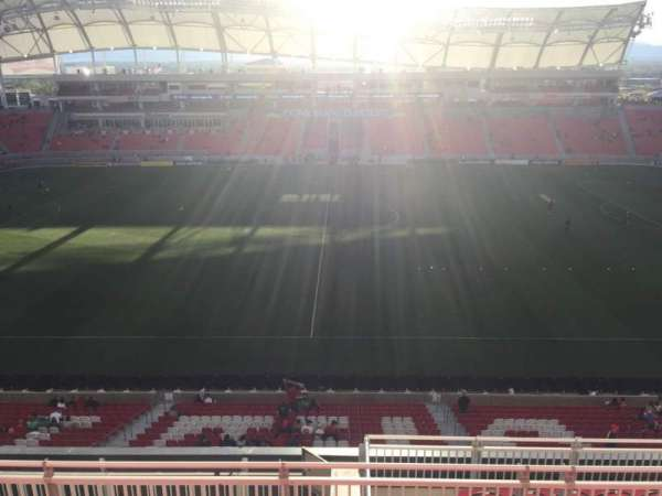 Rio Tinto Stadium, section: 201, row: H, seat: 10