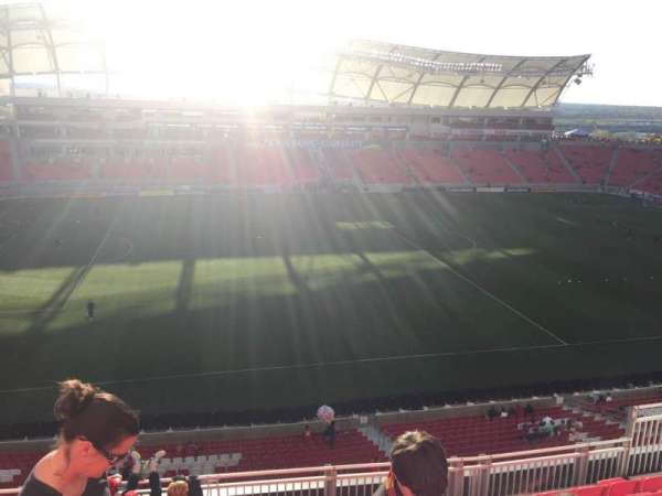 Rio Tinto Stadium, section: 203, row: H, seat: 12