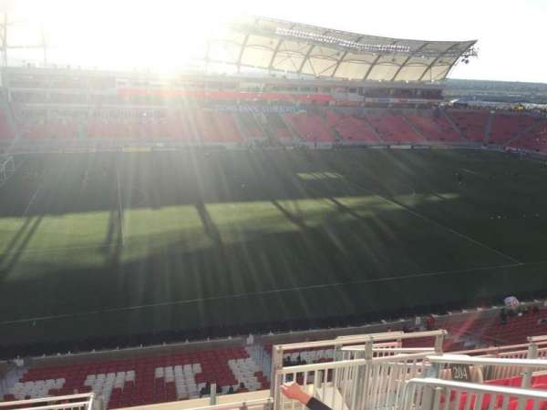 Rio Tinto Stadium, section: 204, row: H, seat: 5