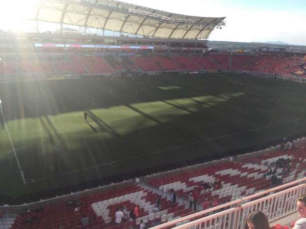 Rio Tinto Stadium, section: 205, row: D, seat: 12