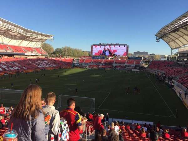Rio Tinto Stadium, section: 26, row: ZC, seat: 27