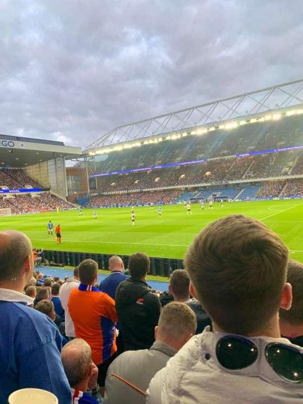 Ibrox Stadium, section: GF1, row: L, seat: 0019