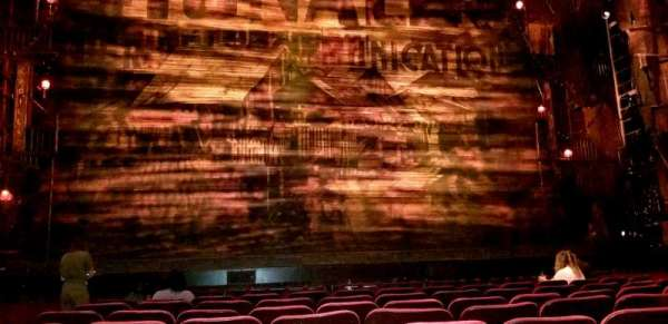 Hollywood Pantages Theatre, section: Orchestra C, row: H, seat: 112