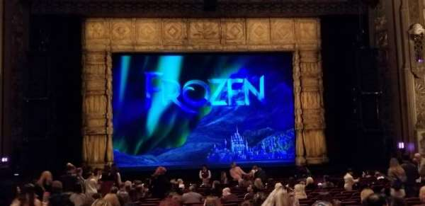 Hollywood Pantages Theatre, section: ORCHESTRA C, row: X, seat: 111