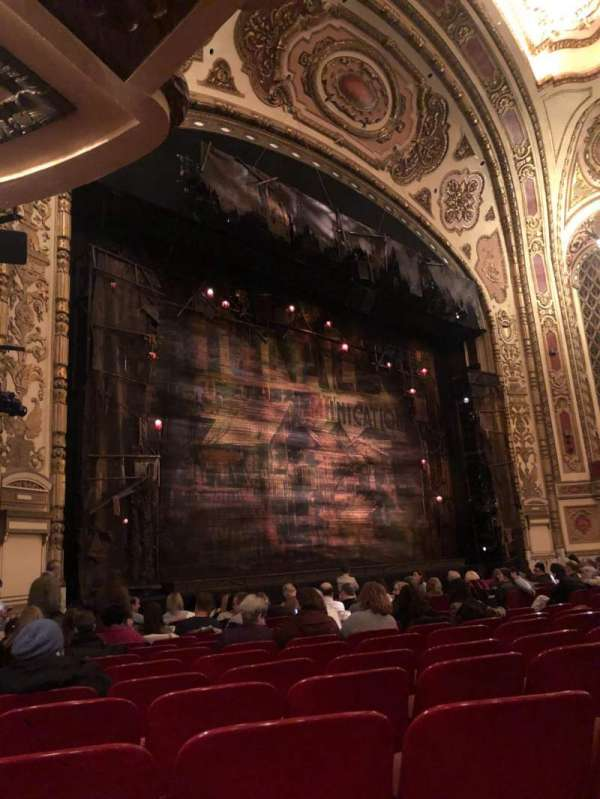 Cadillac Palace Theater, section: ORCHFL, row: N, seat: 31