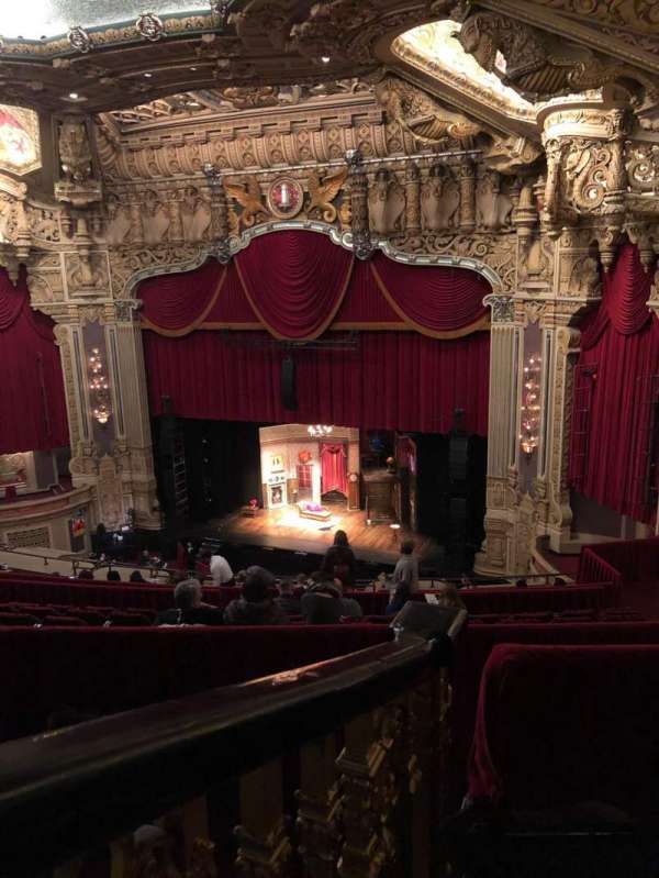 Nederlander Theatre (Chicago), section: Balcony R, row: N, seat: 364