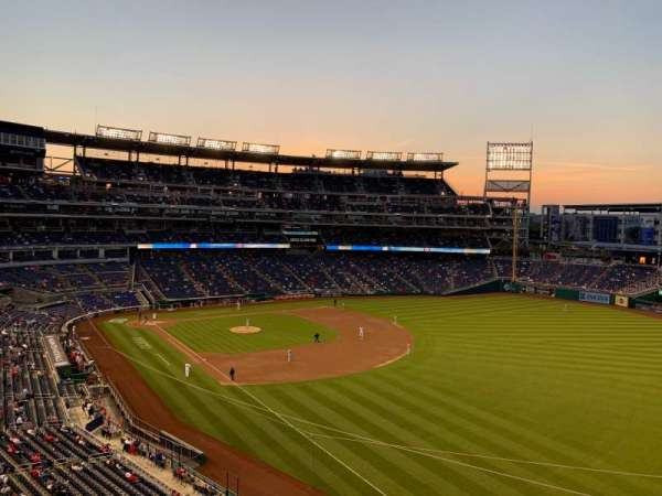 Nationals Park, section: 230, row: A, seat: 19