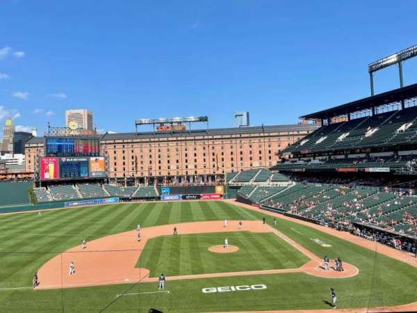Oriole Park at Camden Yards, section: 248, row: 4, seat: 6