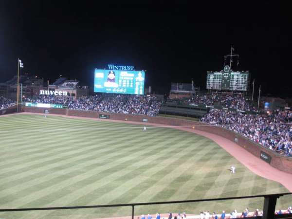 Wrigley Field, section: 329R, row: 2, seat: 12