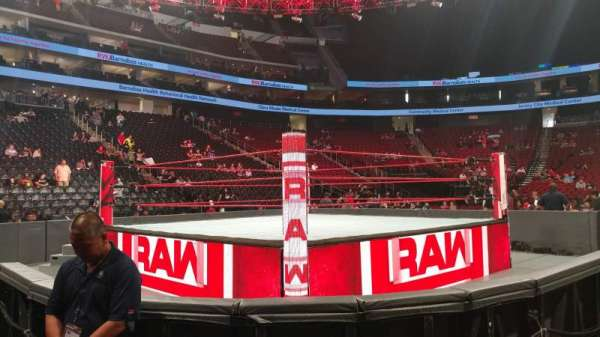 Prudential Center, section: C, row: 2, seat: 12