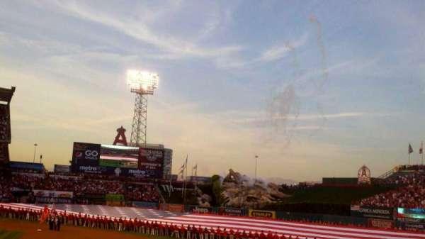 Angel Stadium, section: F125, row: U, seat: 15