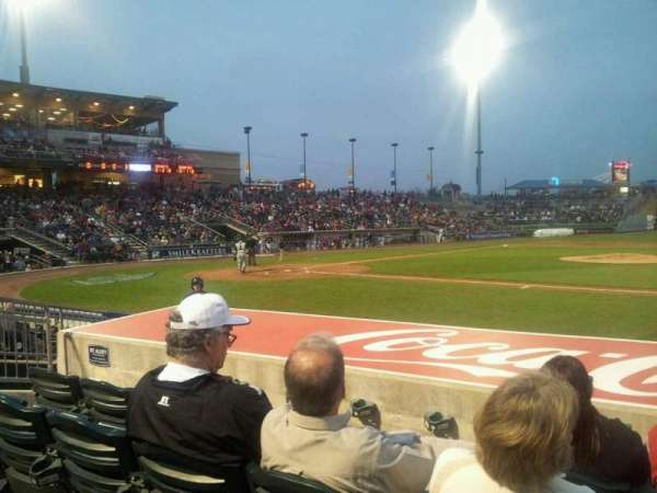 Coca-Cola Park, section: 107, row: H, seat: 5