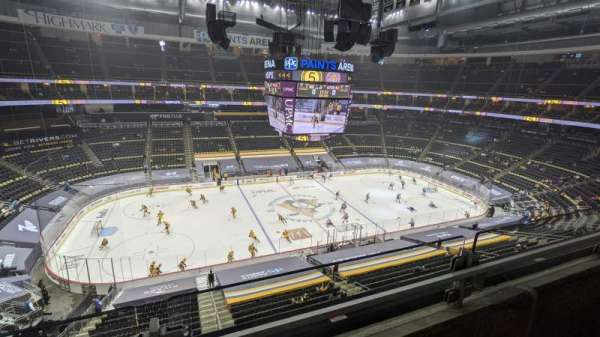 PPG Paints Arena, section: 221, row: A, seat: 16