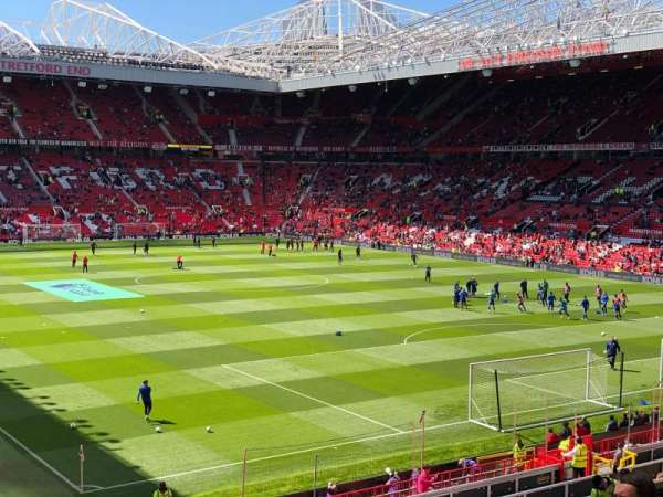 Old Trafford, section: E232, row: 23, seat: 18