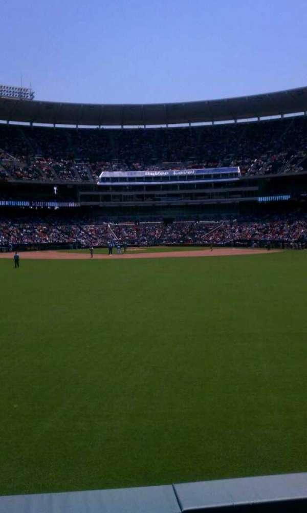 Kauffman Stadium, section: 101, row: c, seat: 11