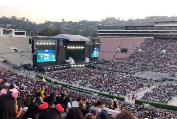 Rose Bowl, section: 6-H, row: 70, seat: 115