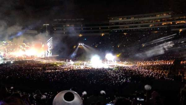 Rose Bowl, section: 6-H, row: 36, seat: 113