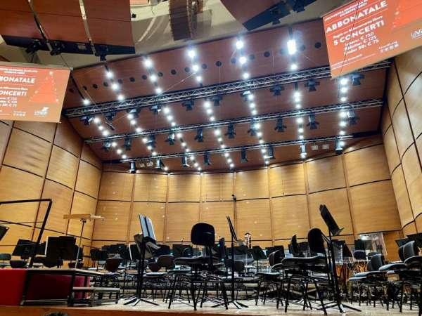 Auditorium Di Milano, section: Playea, row: Fila 3, seat: Postp 10