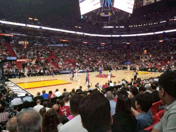 American Airlines Arena, section: 120, row: 9, seat: 14