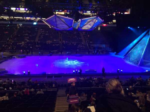 The O2 Arena, section: 111, row: R, seat: 376