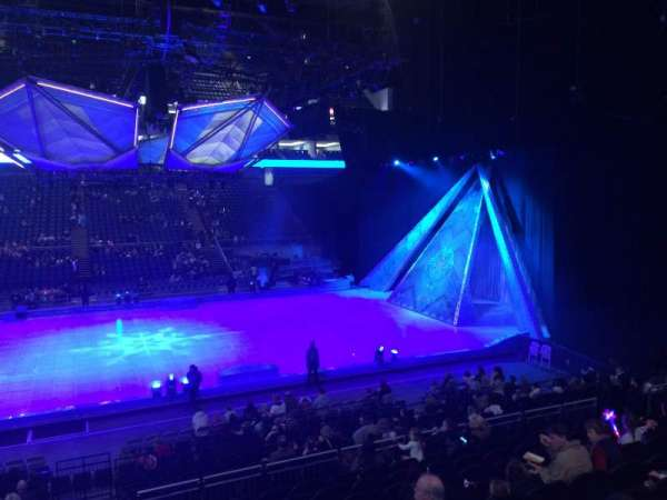 The O2 Arena, section: 111, row: R, seat: 378