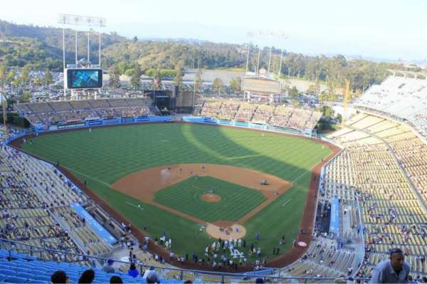 Dodger Stadium, section: 3RS, row: N, seat: 7