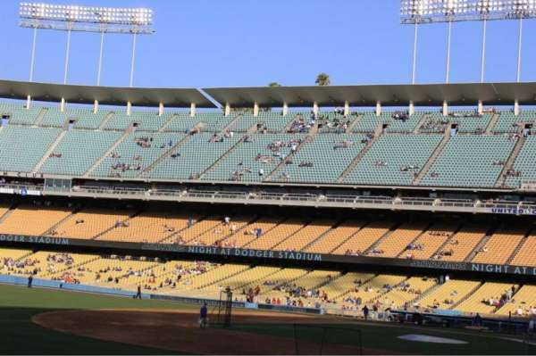 Dodger Stadium, section: 35FD