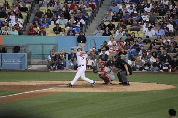Dodger Stadium, section: 27FD