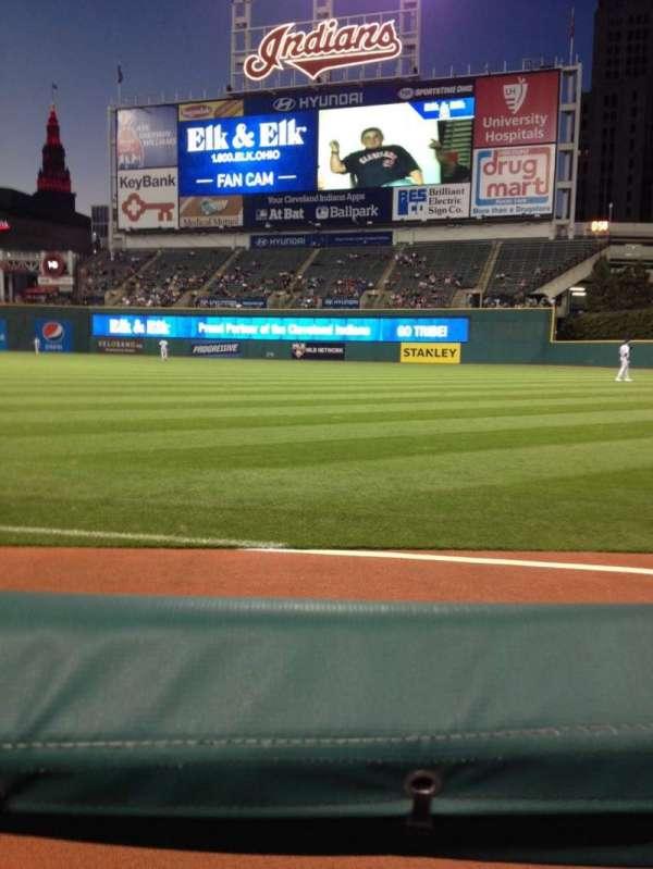 Progressive Field, section: 129, row: 129, seat: 4