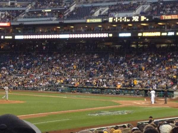 PNC Park, section: 127, row: L, seat: 3