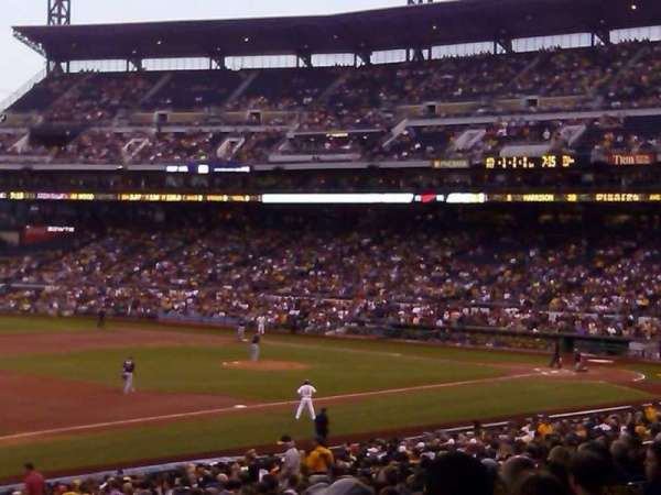 PNC Park, section: 127, row: W, seat: 5