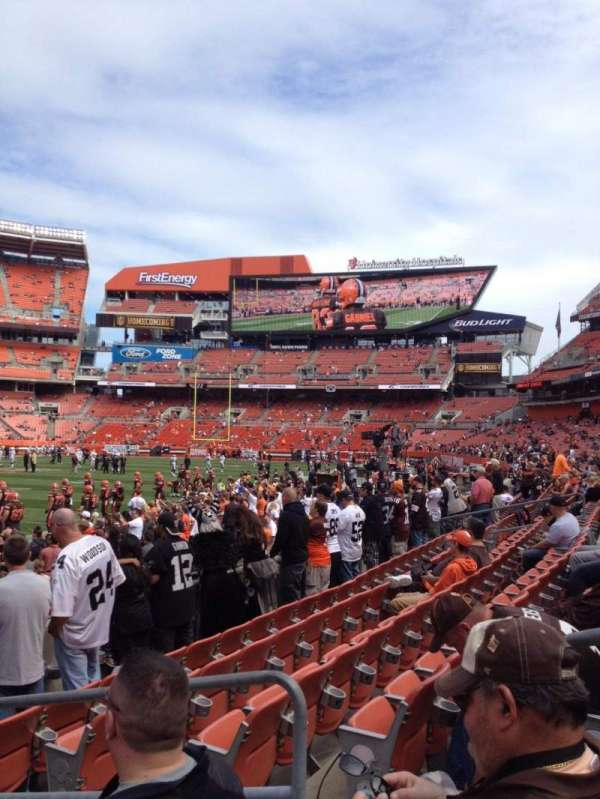 FirstEnergy Stadium, section: 102, row: 6, seat: 9
