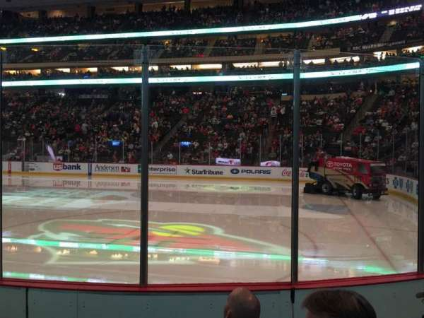 Xcel Energy Center, section: 114, row: 5, seat: 4