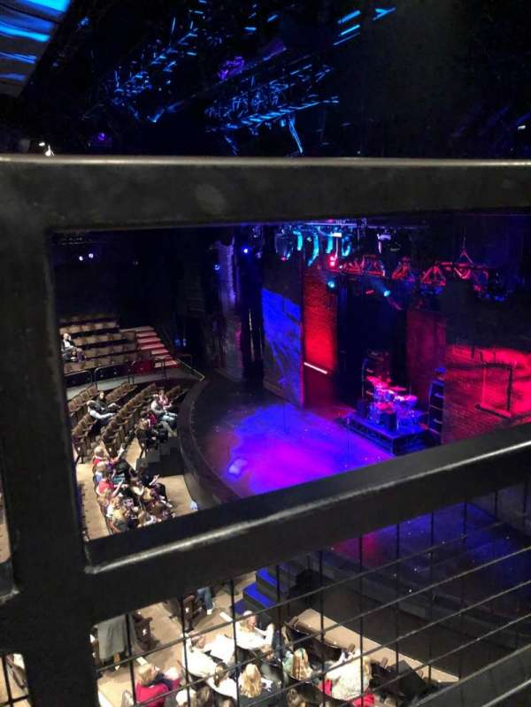 Gillian Lynne Theatre, section: Dress Circle, row: A, seat: 8