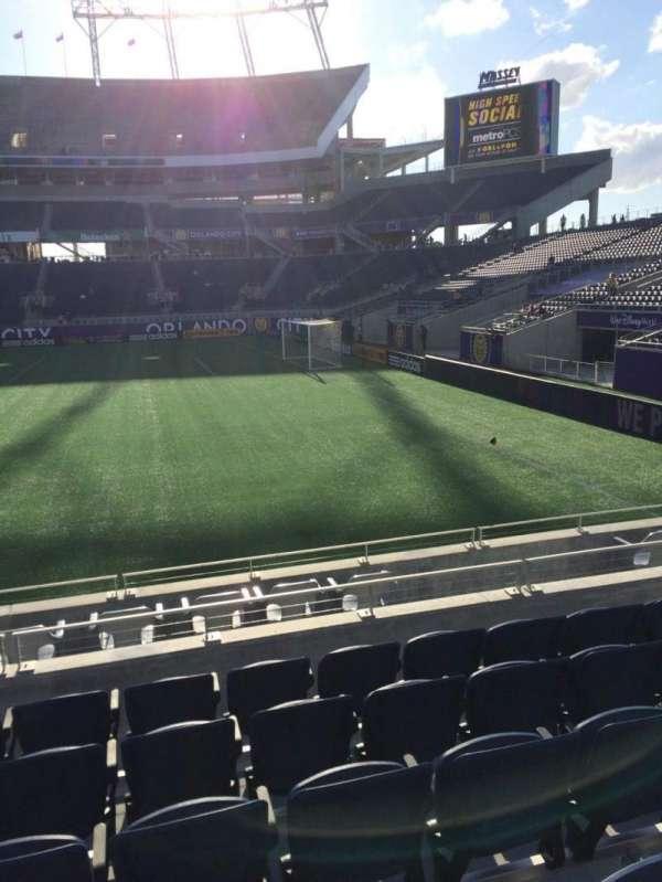 Camping World Stadium, section: 105, row: J , seat: 8