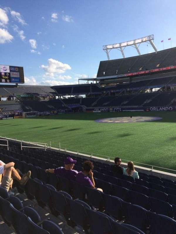 Camping World Stadium, section: 106, row: K, seat: 3