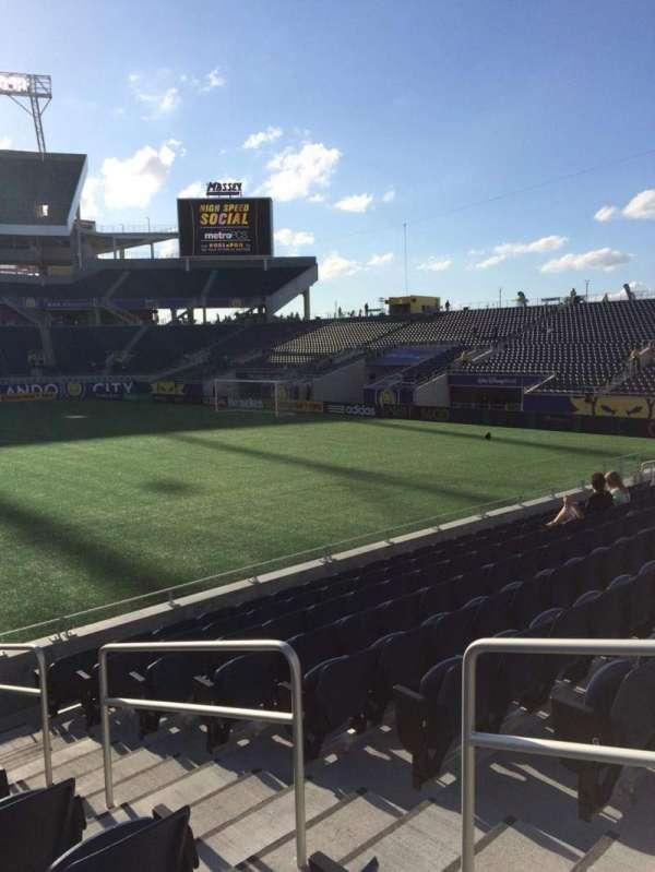 Camping World Stadium, section: 107, row: J, seat: 3