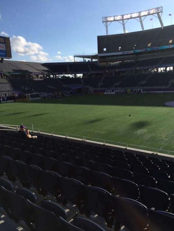 Camping World Stadium, section: 108, row: K, seat: 3