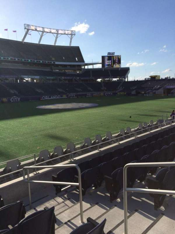 Camping World Stadium, section: 111, row: J, seat: 3