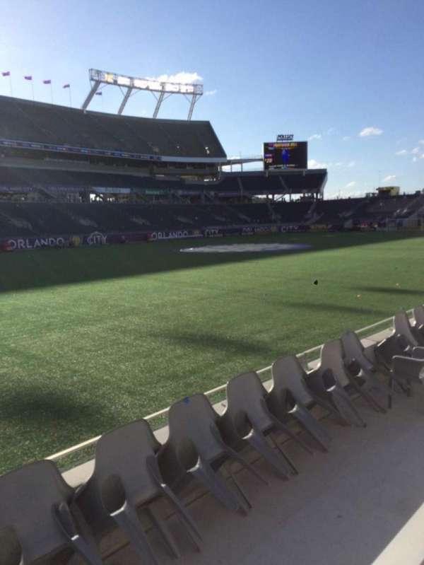 Camping World Stadium, section: 113, row: D, seat: 1