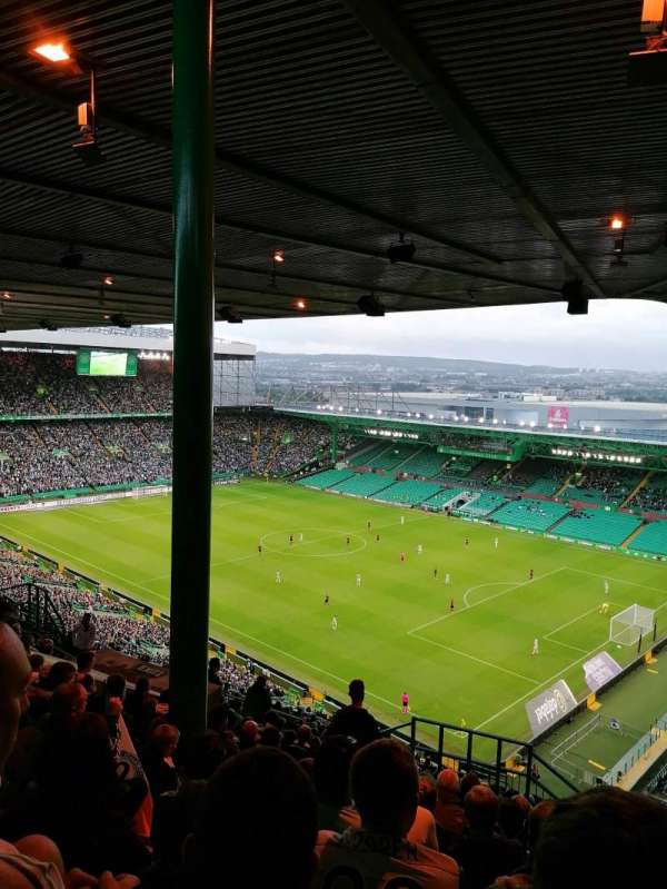 Celtic Park, section: 445, row: AA, seat: 9