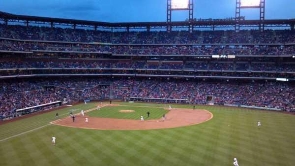 Citizens Bank Park, section: 201, row: 8, seat: 25