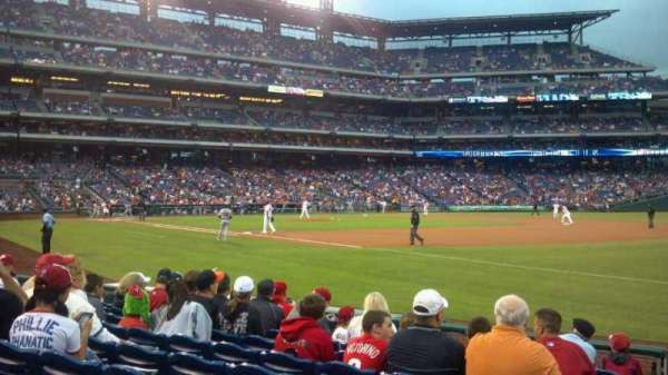 Citizens Bank Park, section: 111, row: 9, seat: 9