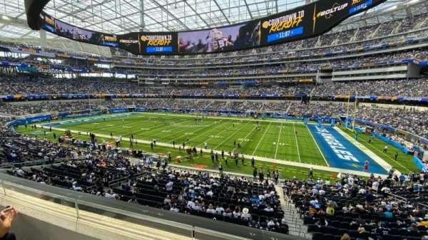 SoFi Stadium, section: C249, row: 2, seat: 3